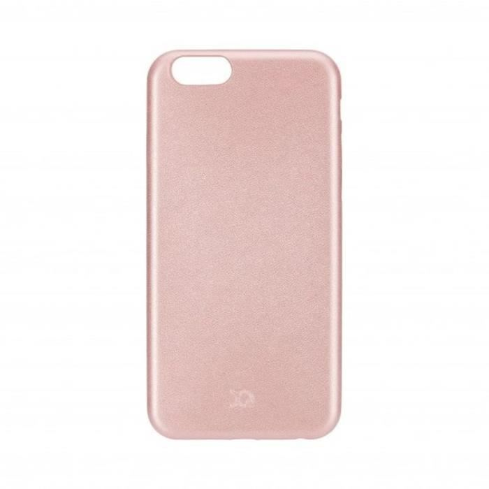 Coque XQISIT iPlate Gimone overmold iPhone 6/6s  - Or Rose