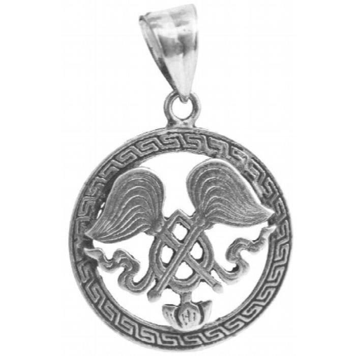 Pendentif femme Fouet Fly Paire - Argent Sterling M7RMW