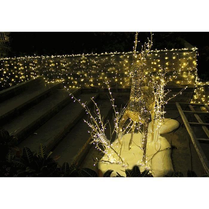 Aukur 10M U0026 100 LED,décoration Maison,Blanc Chaud, Décoration Intérieure En  Cuivre,Vacances,Mariages,8 Modes De Scintillement,220V