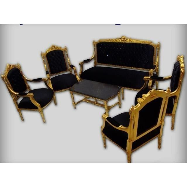CHAISE Style Ancien Baroque Salon 4 Chaises 1 Canap