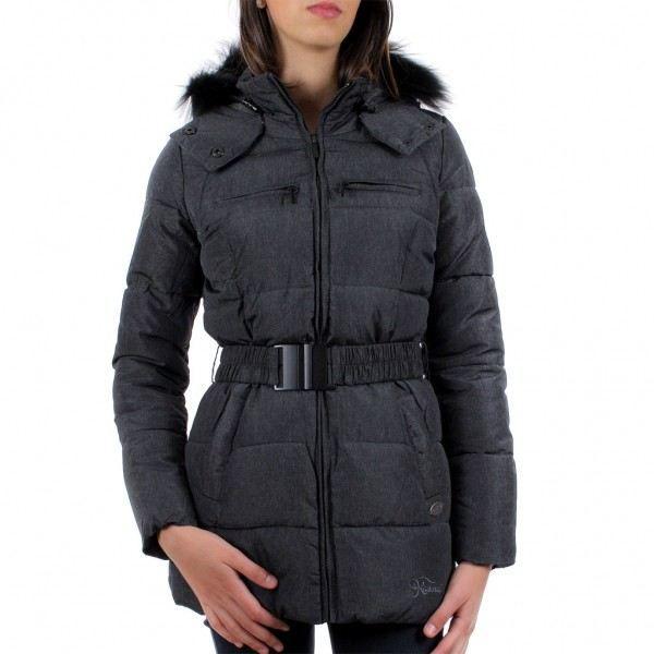 vente chaude authentique utilisation durable premier taux Manteau Kaporal Femme Garas Gris… Noir Gris Noir - Achat ...