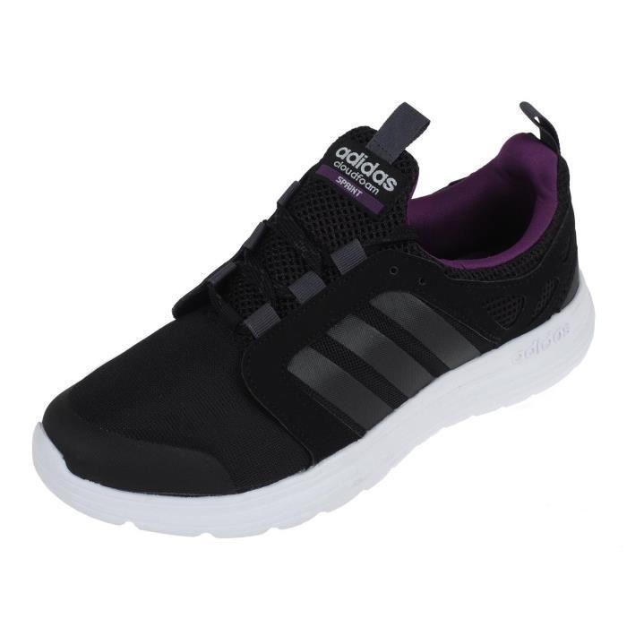 Prix Adidas Sprint Noir Running Chaussures Mode Cloudfoam Neo 0BU1q70