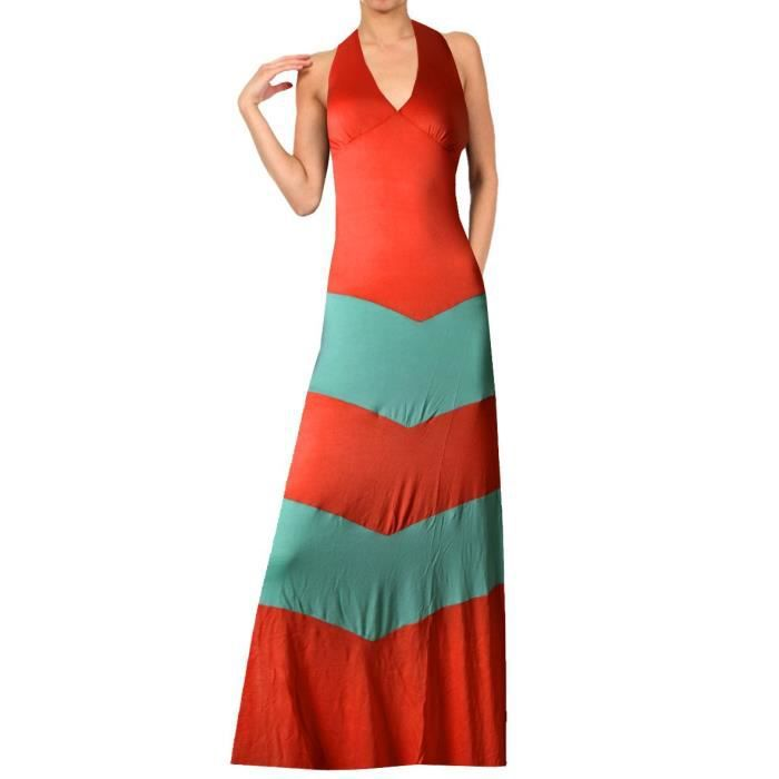 Craze Rayon Span manches longues Loose Fit Jersey Midi Dress - Solid