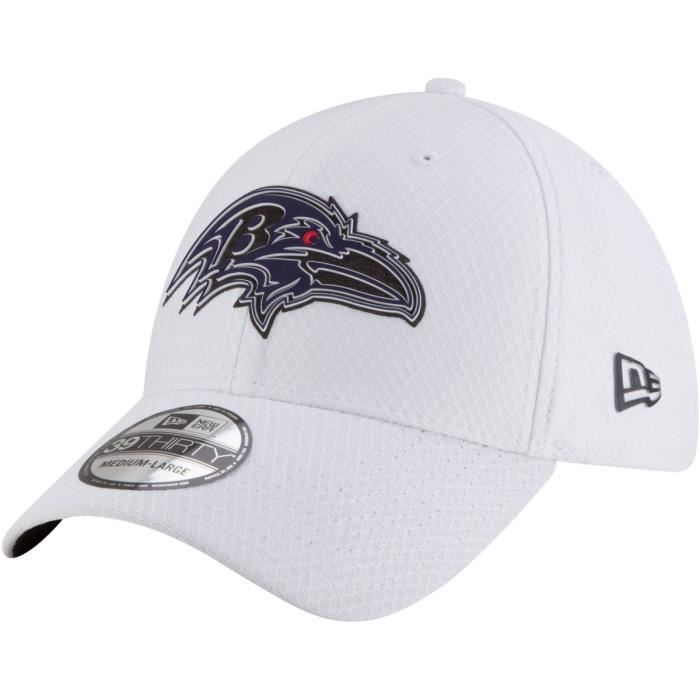 1573548ea6f4f CASQUETTE New Era 39Thirty Cap - TRAINING Baltimore Ravens. Official NFL ...