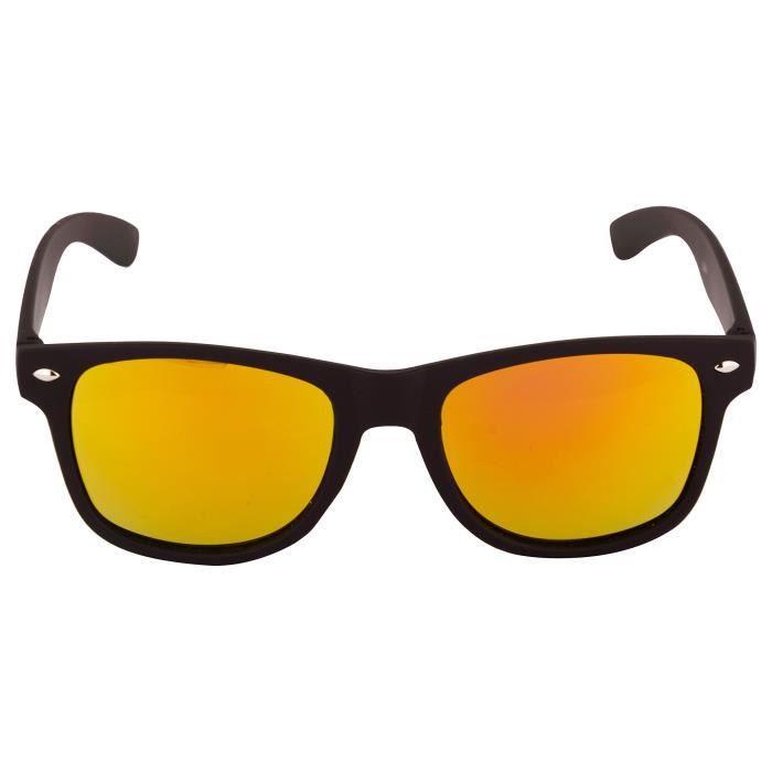 Lunettes de soleil Wayfarer Mirrored Pour Garçons Filles non polarisants  Goggle-élégant multi objectif CVGMI ... eb894823a5c3