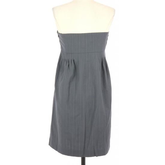 Robe SEE BY CHLOÉ FR 38 Gris Gris - Achat   Vente robe - Cdiscount f0051566cc7