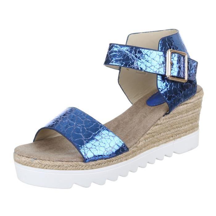 Chaussures femmes sandales cale talon Escarpins