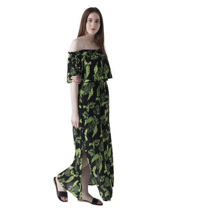 Womens A-line Maxi Dress 1F7QGY Taille-34