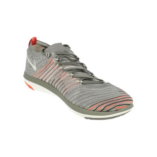 half off a98d1 3c50c Nike Free Transform Flyknit Femmes Running Trainers 833410 Sneakers  Chaussures 006 Gris Gris - Achat   Vente basket - Cdiscount