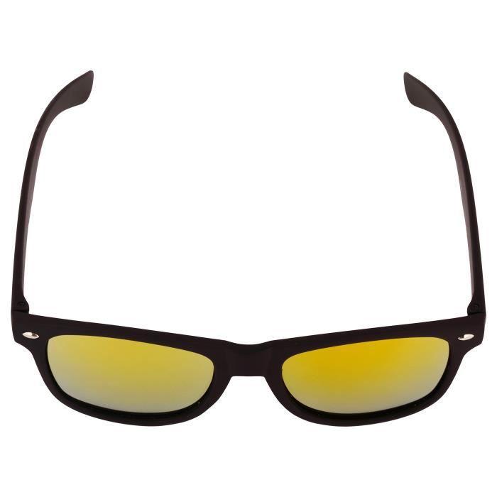 ... Lunettes de soleil Wayfarer Mirrored Pour Garçons Filles non  polarisants Goggle-élégant multi objectif CVGMI 3e0f1b887383
