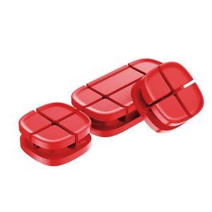 CÂBLE TÉLÉPHONE Câble USB clip de bureau enrouleur de câble Organi