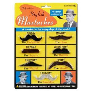 BÂTON - ÉPÉE - BAGUETTE Fausses Moustaches
