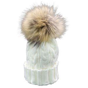 33f1d60f2c9e BONNET - CAGOULE Bambin Bébé Hiver Crochet Chapeau De Fourrure En L ...
