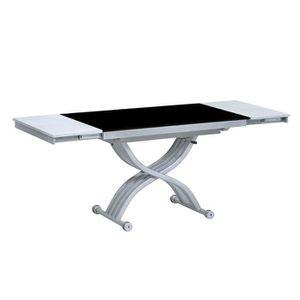 TABLE BASSE Table relevable Créative - Noir