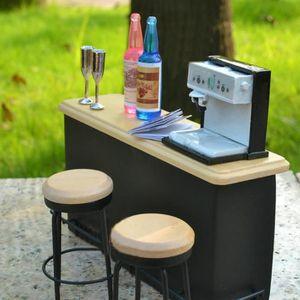 DINETTE - CUISINE BAQI Machine Expresso Jouet Miniature Dollhouse Dé