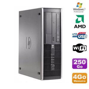 UNITÉ CENTRALE  PC HP Compaq 6005 Pro SFF AMD 3GHz 4Go DDR3 250Go