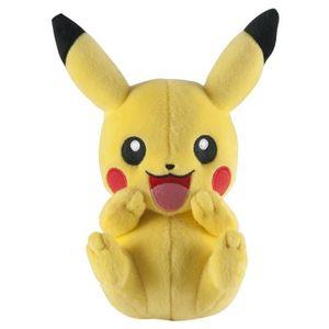 PELUCHE POKEMON Peluche Pikachu Plush Rigole 20 Cm