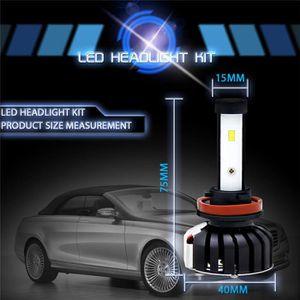 PHARES - OPTIQUES LED Ampoules H11 - H8   phares Kit 9005 H1 H4 H7 H