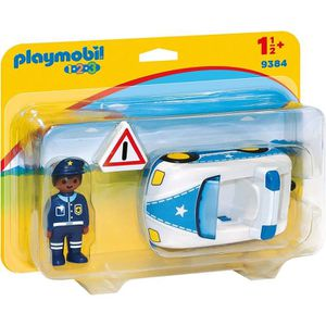 FIGURINE - PERSONNAGE PLAYMOBIL 1 2 3 9384 - PLAYMOBIL 1.2.3 - Voiture d