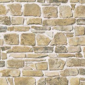 Rasch Papier Peint Motif Mur De Briques Beige Achat Vente Papier