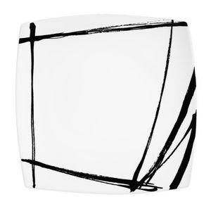 assiette carree achat vente pas cher. Black Bedroom Furniture Sets. Home Design Ideas