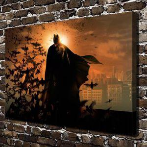 TABLEAU - TOILE Home Décoration Oils Paintings Super Hero Batman H