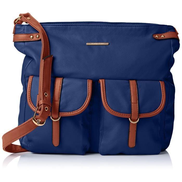 Gigi School Bag Pu Leather, Sac Bandoulière G9YDG