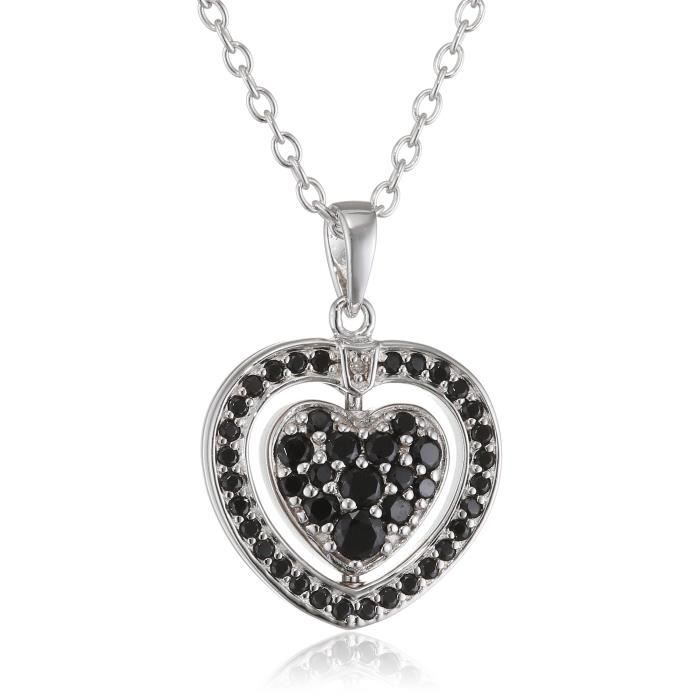 Hot Diamonds Womens Turning Heart Pendant With Chain Of 61cm 1F2GH0
