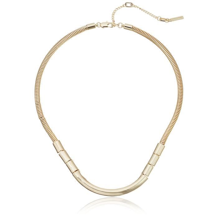 Kenneth Cole New York Tectonic Plates Bar Necklace XW821