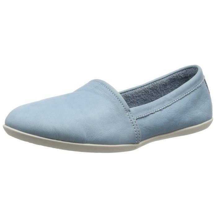 Olu382sof Femme On Softinos Chaussures Bleu W9jkl Slip dRqAxI