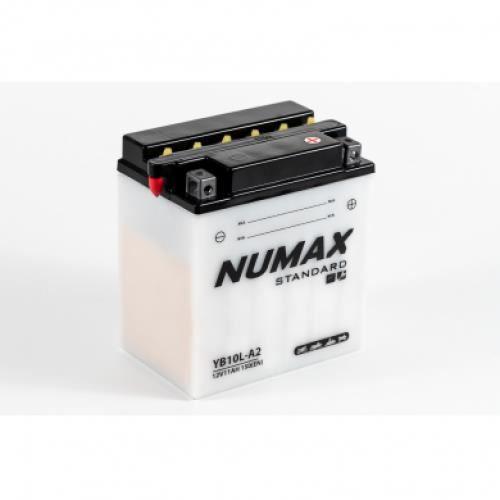 BATTERIE VÉHICULE Batterie moto Numax Standard avec pack acide YB10L