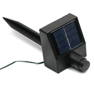 Guirlande exterieure solaire bleue achat vente pas cher for Guirlande lumineuse exterieur 40m