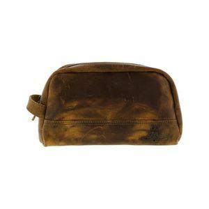f7bbb10003dd SAC DE VOYAGE sac de voyage pour homme en cuir cosmétique - marr