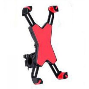 FIXATION - SUPPORT Support smartphone voiture rouge-Moto rcyle Vélo V