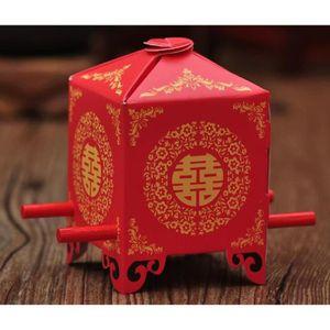 BOÎTE À DRAGÉES 50 paquets bonbonnières chinois plateau de bonbons
