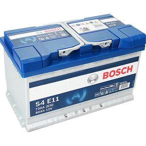 BATTERIE VÉHICULE Batterie BOSCH Bosch S4E11 80Ah 730A - 36641109768