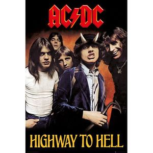 AFFICHE - POSTER Poster AC-DC Highway to Hell