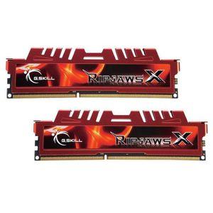 MÉMOIRE RAM G.Skill 16GB DDR3-1600, 16 Go, 2 x 8 Go, DDR3, 160