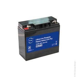 BATTERIE DOMOTIQUE NX - Batterie lithium fer phosphate 12V 18Ah T3