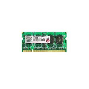 MÉMOIRE RAM RAM PC Portable SODIMM Transcend JM667QSU DDR2 667