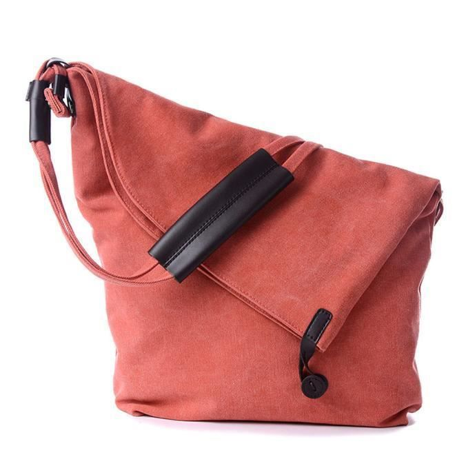 Sac Orange Épaule Fourre tout Casual Style mode Populaire Simple Messenger nyz09075781 Toile Loisirs Weekender Pachasky wHOEqCx