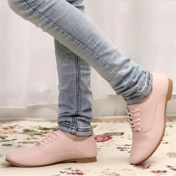 Femme Sneaker Plus De Couleur Blanc Noir Rose Bleu Antidérapant Poids Léger Basket Grande Taille Respirant Confortable Chaussure