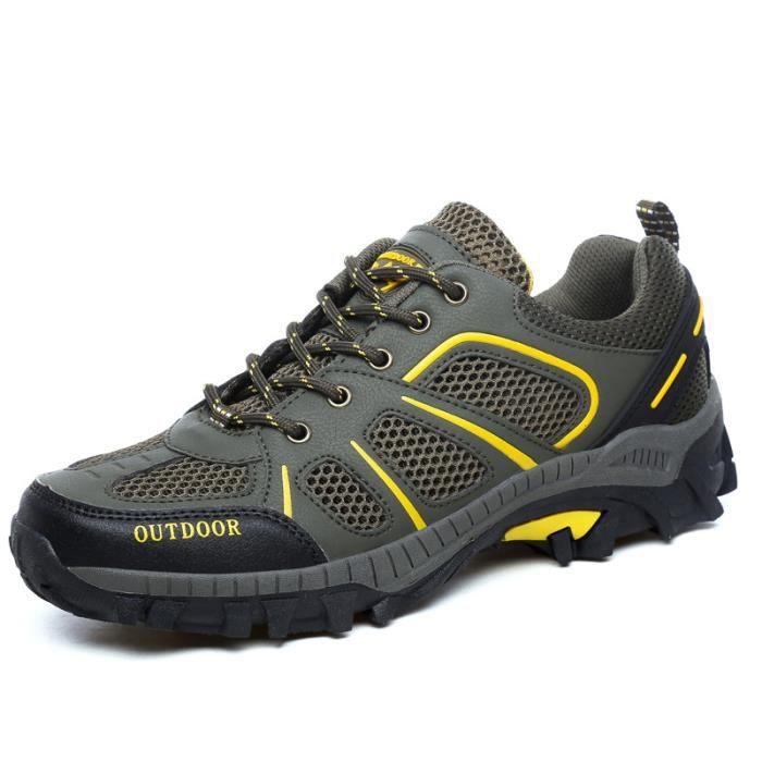 Basket outdoor Chaussures de trempage à mailles respirantes chaussures hors route résistantes à l'usure cO8dVz7V0