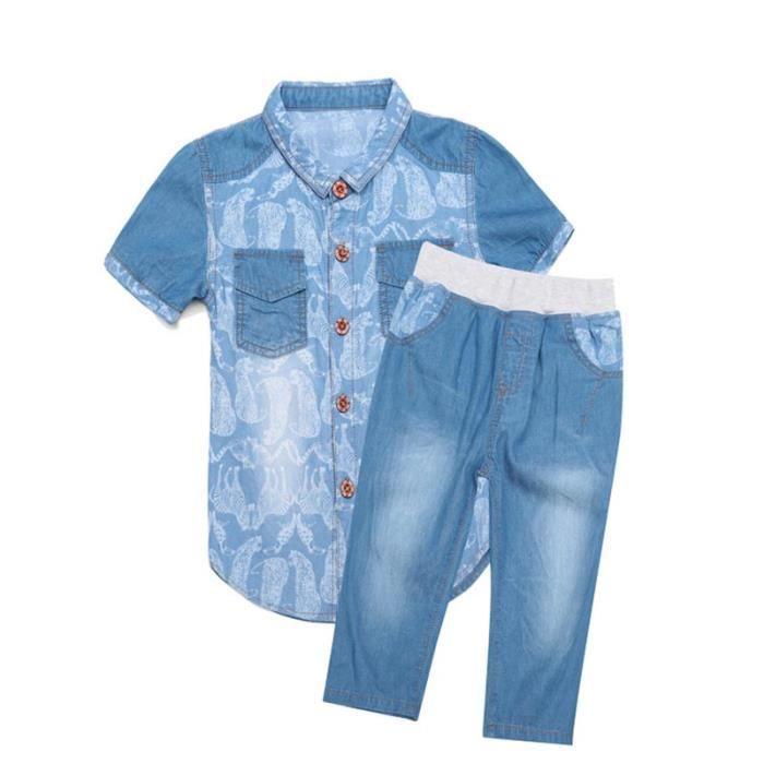 9bea26c0aee9e Chemise manche courte enfant - Achat / Vente pas cher