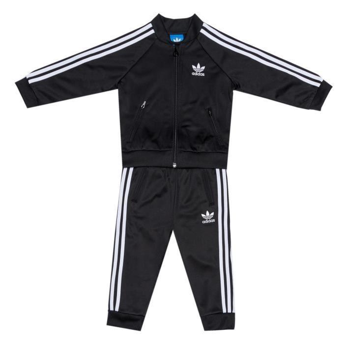 Ensemble adidas Originals Superstar pour bébé en noir et blanc Noir ... e714be279d2