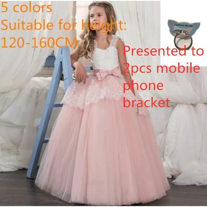 a1028b387ba24 Dentelle Appliques Tulle Fleur Fille Robes pour Mariages Filles ...