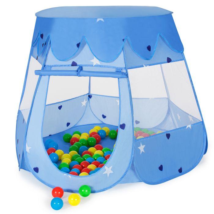 Tente enfant tente balles piscine de balles 100 for Piscine a balles