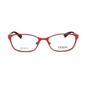 ... LUNETTES DE VUE Lunettes de vue Guess GU2563 -67 Rouge - Noir ... e3403db0e442