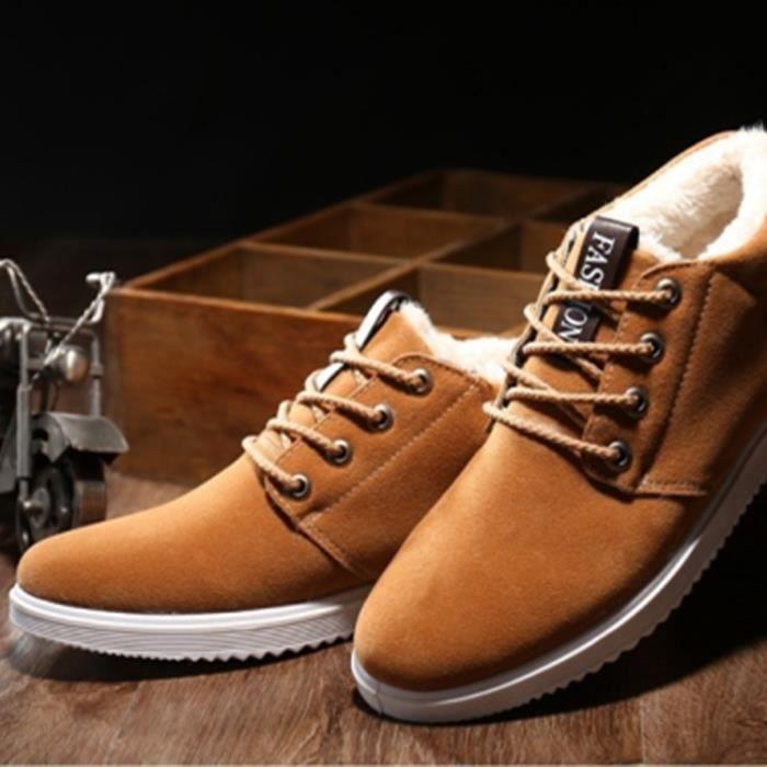 Classique Meilleure Chaussure arrivee Bottine hiver Qualité Nouvelle De Bottine Luxe Marque Homme 4qwx5wv