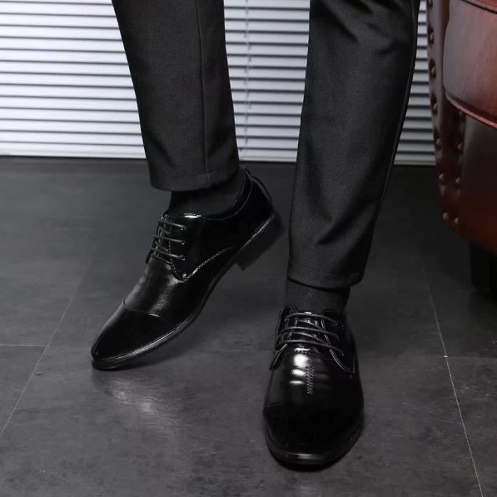 décontractée et air l'été printemps plein Derby chaussures 2017 cuir en Le hommes en qxw4Wt7Cna
